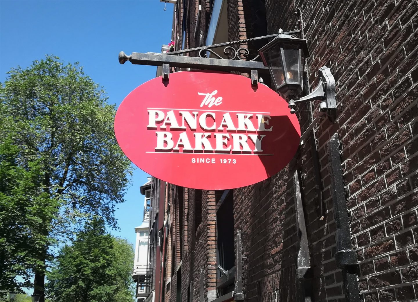 Pancake Bakery Amsterdam sign