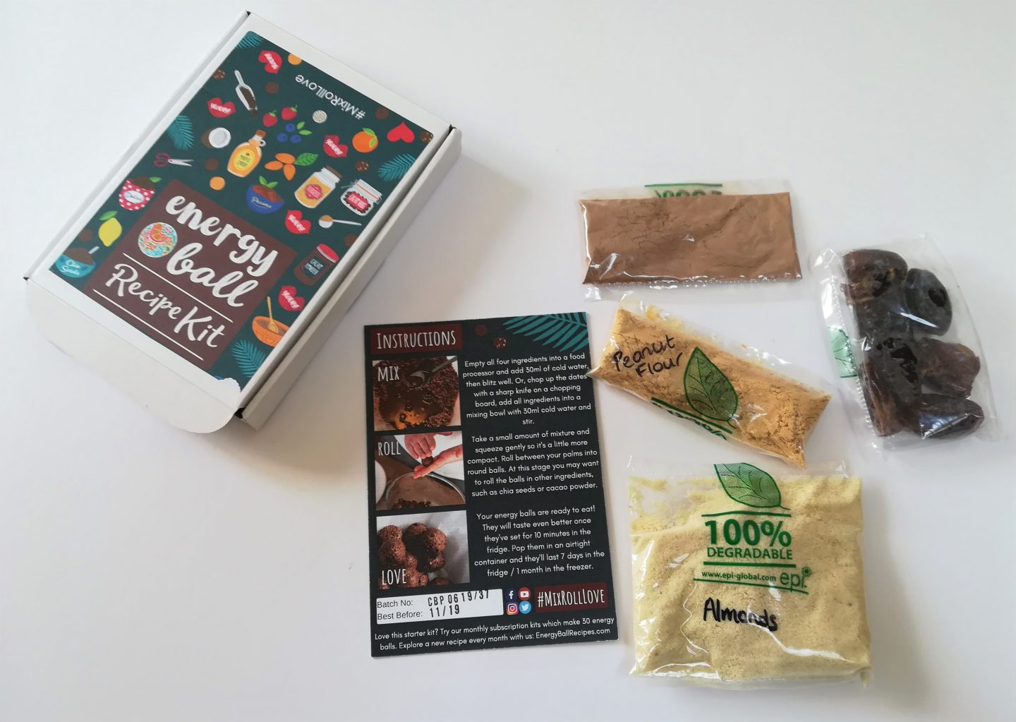 Energy Ball Recipe Kit Review
