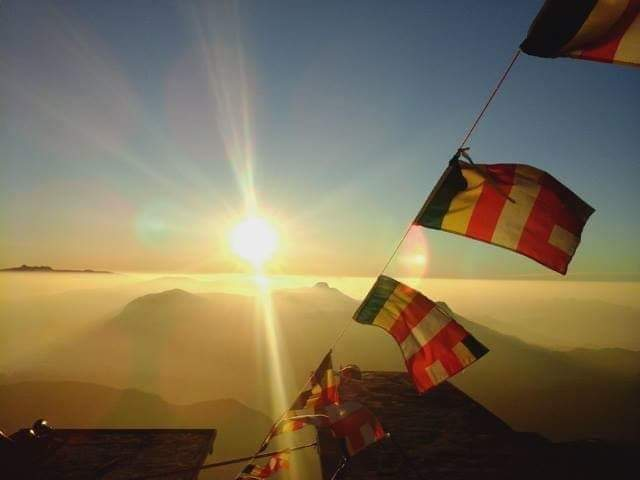 Climbing Adams Peak, Sri Lanka
