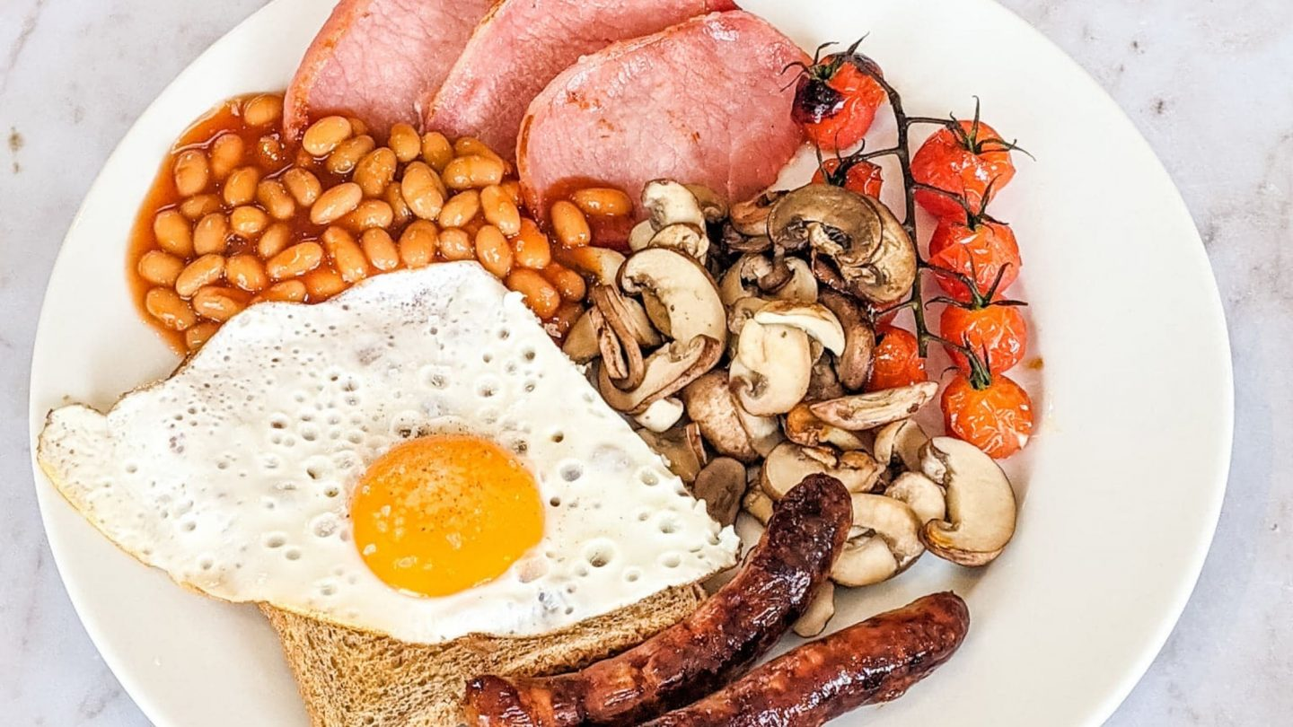 My Ultimate Full English Breakfast