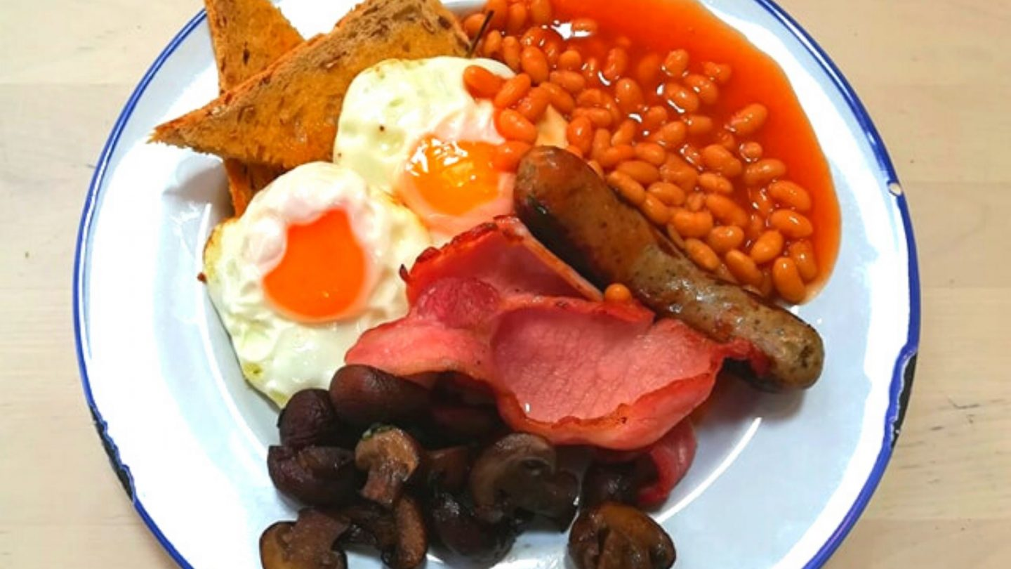 Full English Farm Breakfast